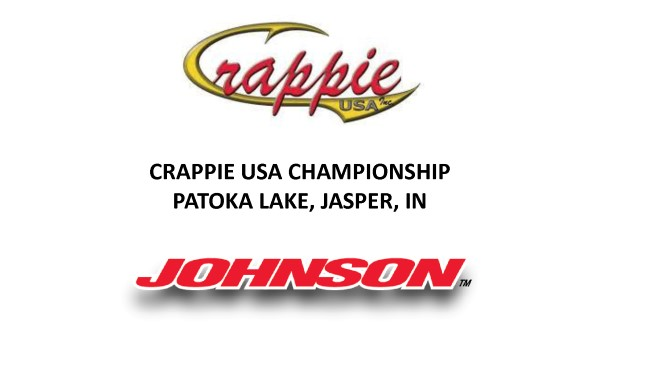 CRAPPIE USA CHAMPIONSHIP PATOKA LAKE, JASPER, IN