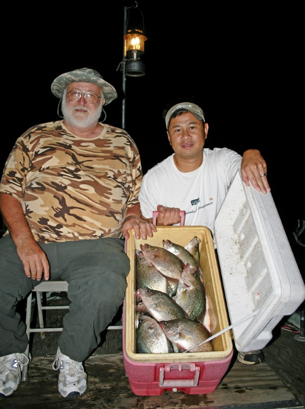 A cooler full of crappie is the norm, not the exception, for experienced night fishermen.