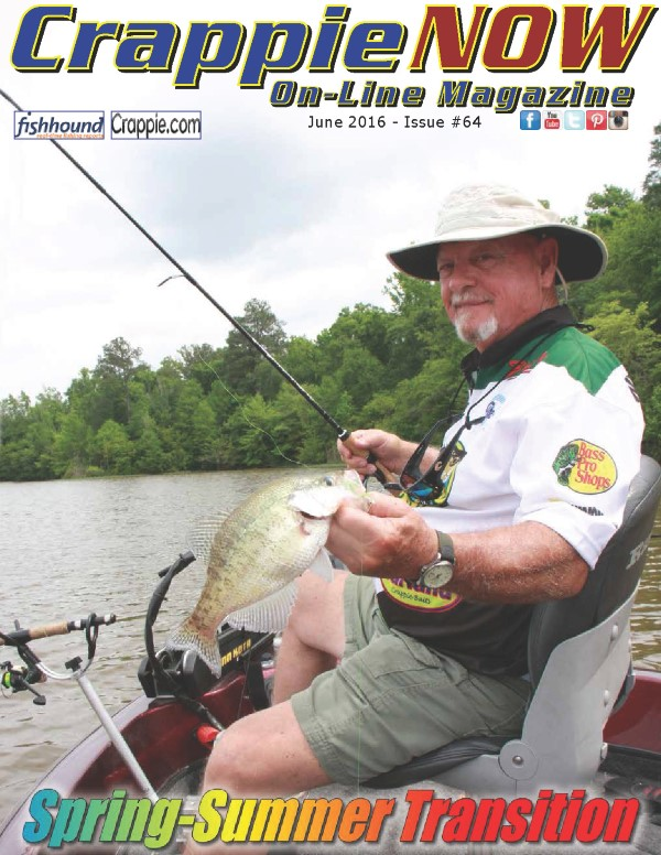 Crappie now free digital magazine crappie now june for Free fishing magazines