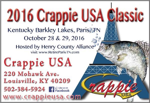 2016 Crappie USA Classic Promo Ad