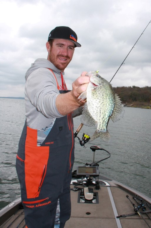 Bass Pro Jacob Wheeler earns his money bass fishing but often switches gears to crappie to unwind and have fun.