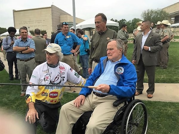 George HW Bush Fishing