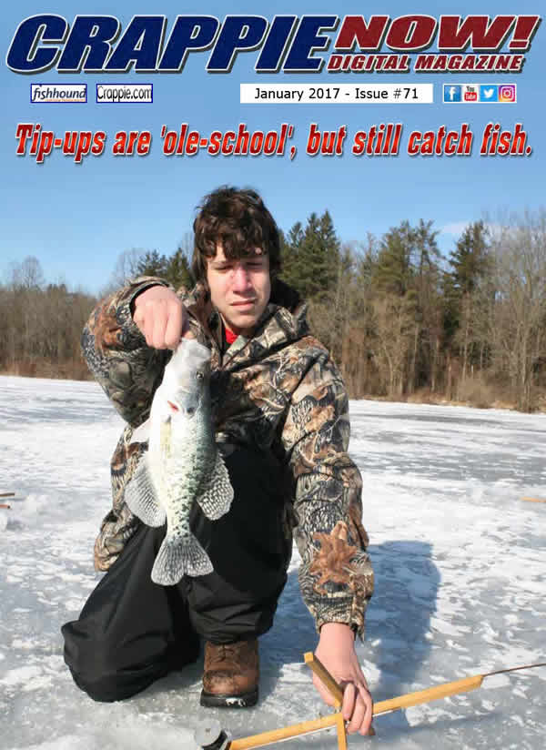 Crappie now free digital magazine crappie now january for Free fishing magazines