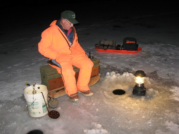 Staying into the night can produce some excellent crappie fishing at this time.