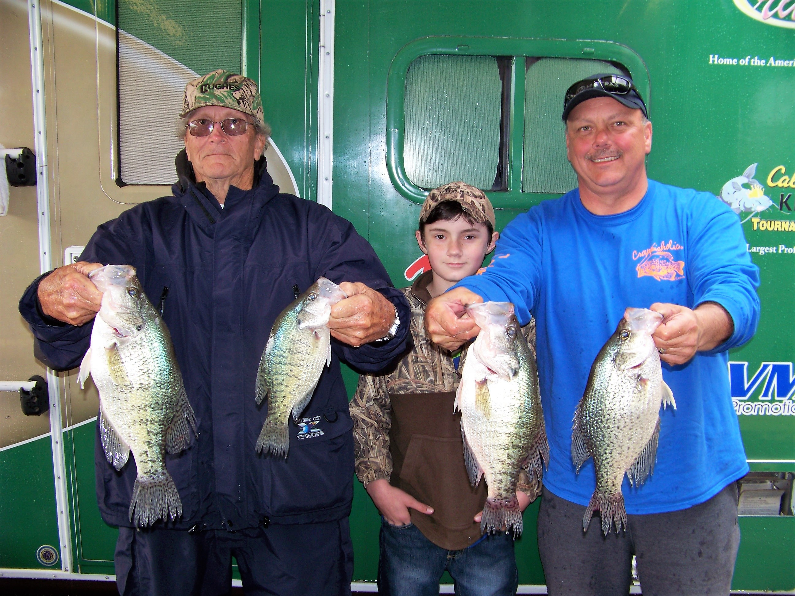 Richard and George Hughes win Crappie USA Tournament on Kentucky and Barkley Lakes at Paris, Tennessee