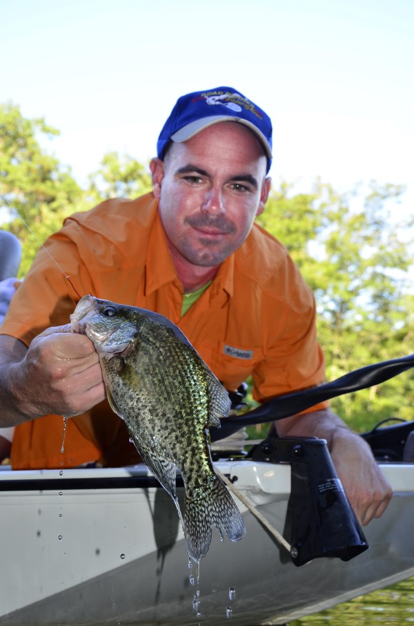 Plenty of good crappie can be caught this month, if you know where to look for them and how to catch them.