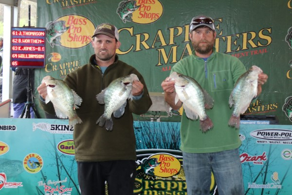Crappie Masters Grenada spring tournament with some big slabs being displayed. This trail has been in operation for over a decade with the 2017 National Championship scheduled in September 20-23 at Greenville, MS, Lake Washington and nearby oxbows.