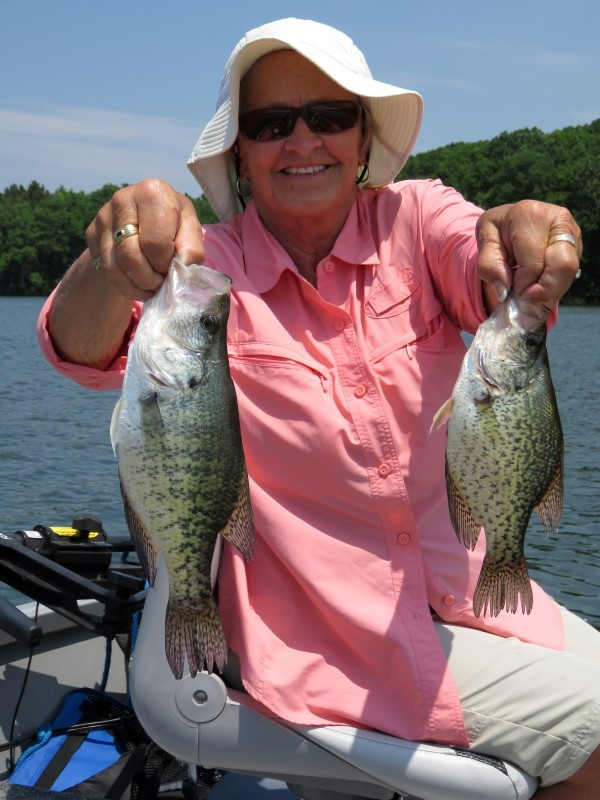 By choosing shallow cover carefully, you can cast your way to summer crappie success.