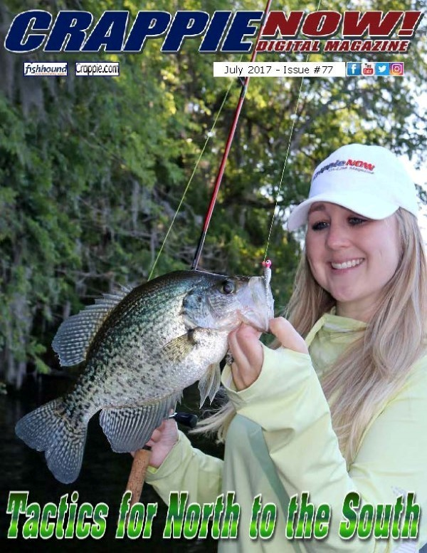 Crappie now free digital magazine crappie now july for Free fishing magazines