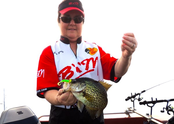The Alabama River near Prattville is very scenic and it produces world class sized crappie.