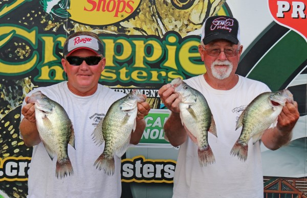 Gary Lee and Richard Bowling, Missouri, finished a strong second with a good day-two catch.