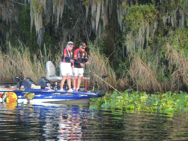 Local anglers Toni and Don Collins are well aware to the great single pole jigging available on the St. Johns River.