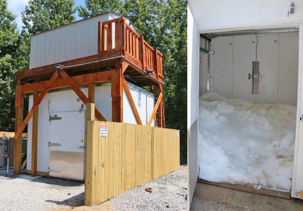A big problem for transporting thousands of pounds of fish each day is having enough ice to get the carp to market. A new ice house near a ramp in Lyon County KY, was built specifically for commercial fishermen to have access to more ice.