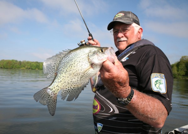 George Toalson has created some of the most popular crappie baits on the market and his catches demonstrate their effectiveness.