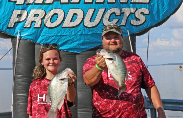 Many slabs were caught during the tournaments. John and Autumn Williams had a few big fish.