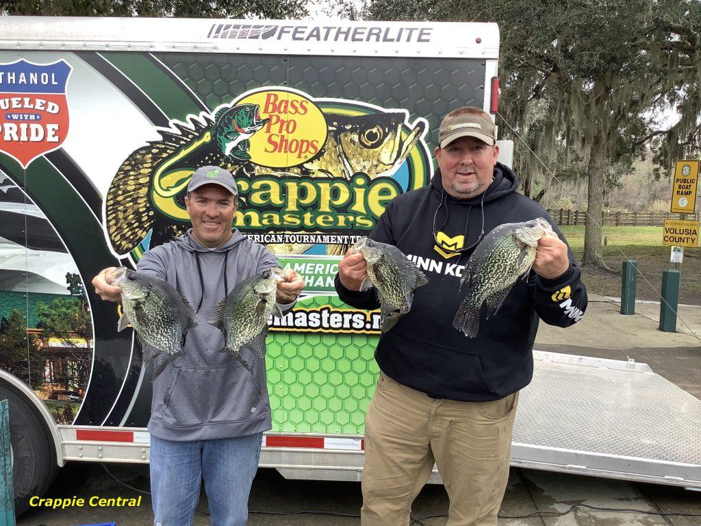 crappie, specks, Florida, St Johns River, Tournament, Crappie Masters. BnM poles